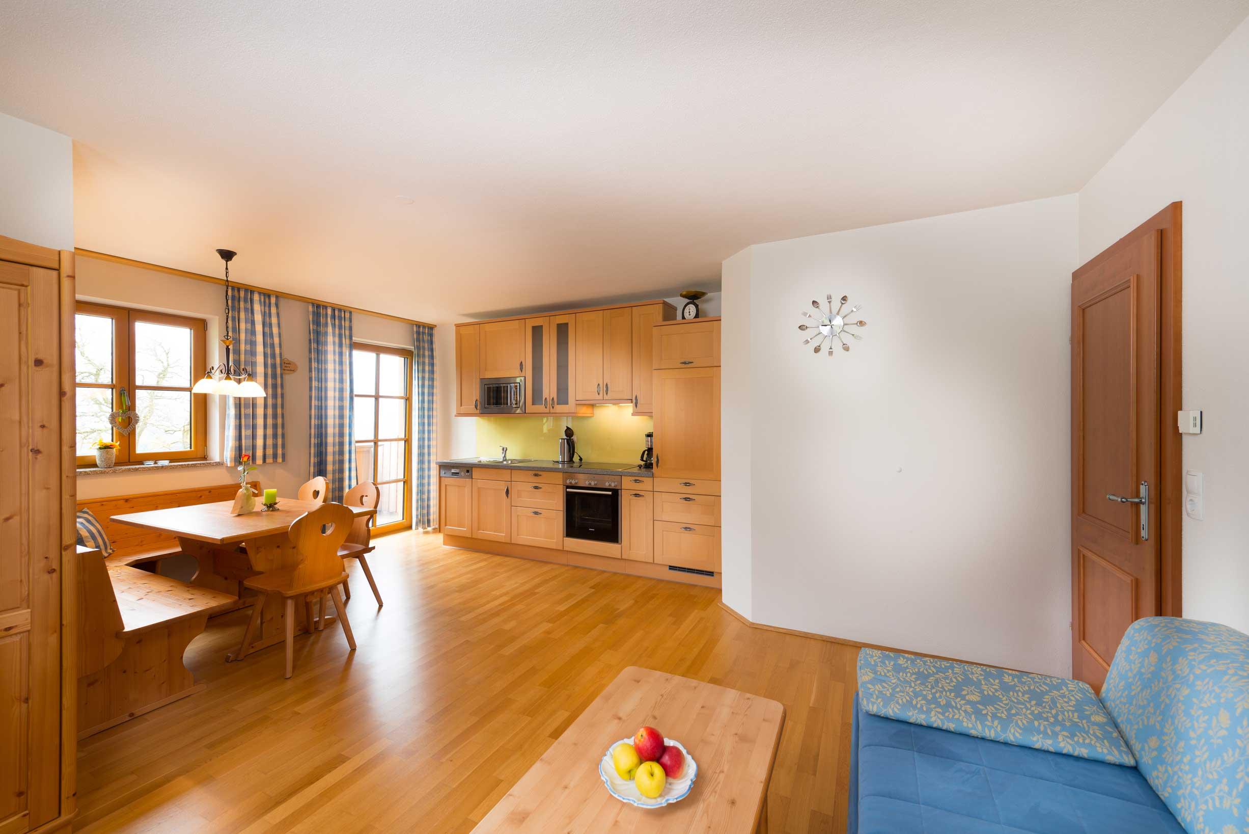 Apartment mit Küche und seperaten WC