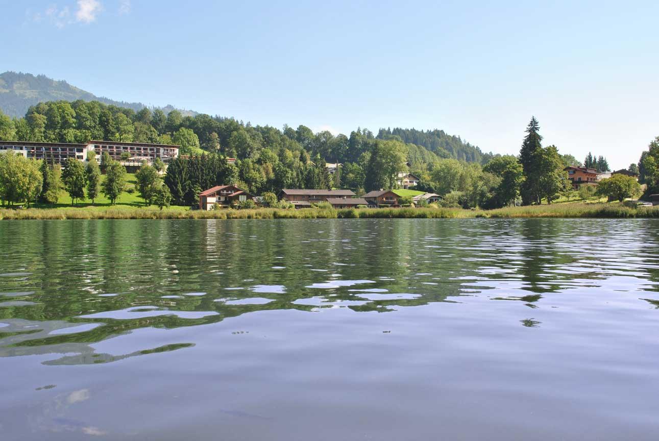 Schwimmen in St.Johann, Goldegg,
